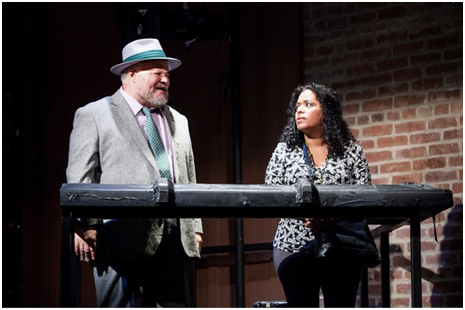 Stephen McKinley Henderson and Liza Colón-Zayas in a scene from Between Riverside and Crazy (Photo credit: Kevin Thomas Garcia)