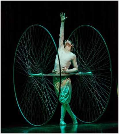 Icarus in a scene from Varekai (Photo credit: Courtesy of Cirque du Soleil)