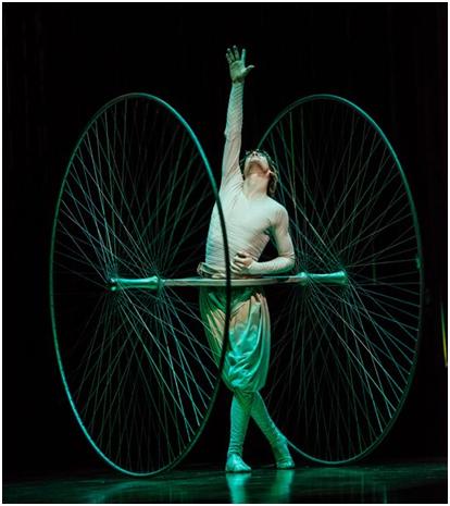 Icarus in a scene from Varekai (Photo credit: Courtesy of Cirque du Soleil)