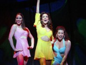 (l-r) Shannon Lewis, Janine LaManna, and Rachelle Rak in The Look of Love (Photo © Joan Marcus)