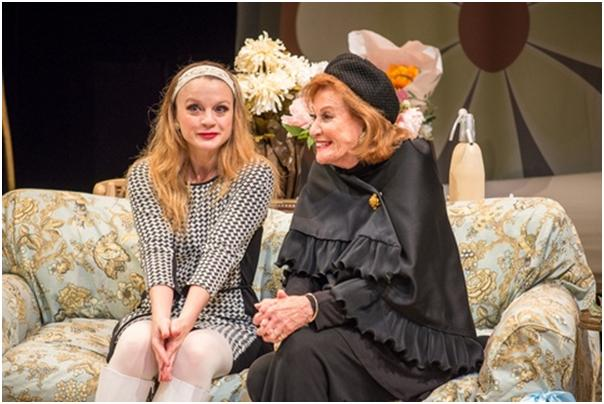 "Margot White and Cynthia Harris in a scene from ""The Killing of Sister George"" (Photo credit: Marielle Solan Photography)"