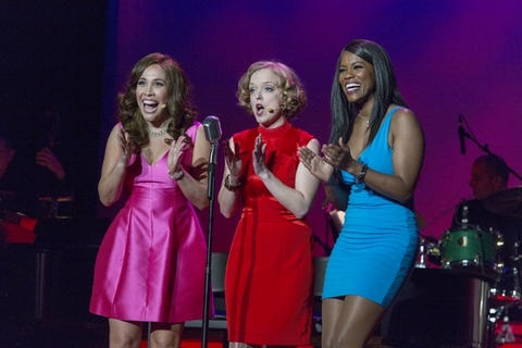 "Andréa Burns, Nancy Anderson and Zakiya Young as they appeared in ""Here's to The Girls! Hollywood's Leading Ladies"" (Photo credit: Richard Termine)"