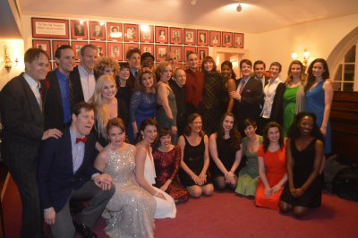 "The Cast of ""Broadway by the Year: The Musicals of 1916-1940"" (Photo credit: Maryann Lopinto)"
