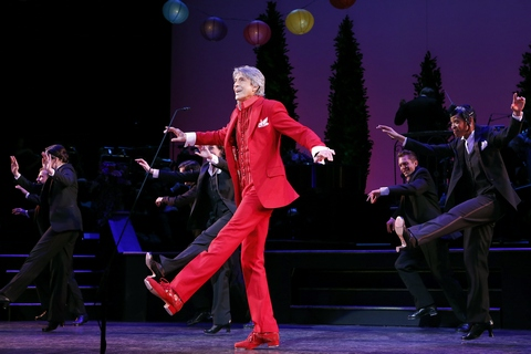 """Tommy Tune and company in a scene from The Gershiwns' """"Lady, Be Good!"""" (Photo credit: Carol Rosegg)"""