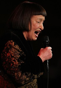 Sheila Jordan mic