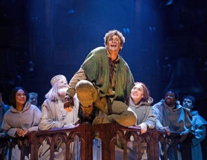 2. Michael Arden and company in The Hunchback