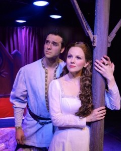 Jeremiah James and Jennifer Hope Wills in Camelot