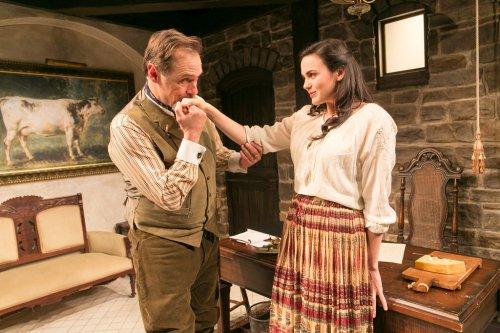 "Kurt Rhoads and Rachel Napoleon in a scene from ""Fashions for Men"" (Photo credit: Richard Termine)"