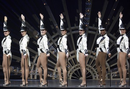 The famed Rockettes as they appear in a scene from the New York Spring Spectacular at Radio City Music Hall (Photo courtesy of MSG Entertainment)