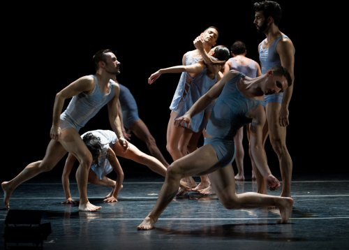 "Ballet Hispanico in a scene from ""Conquer"" (Photo credit: Paula Lobo)"