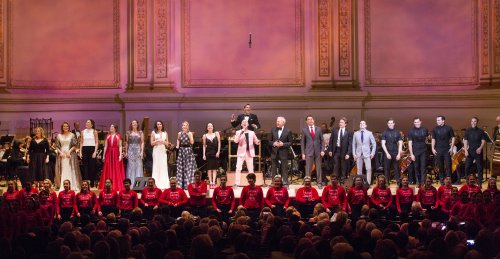 Finale of the New York Pops 32nd Birthday Gala(Photo credit: Richard Termine)