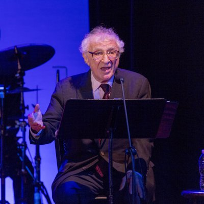 "Lyricist Sheldon Harnick at the 92Y's Lyrics & Lyricists Series: ""To Life!  Celebrating 50 Years of 'Fiddler on the Roof'"" (Photo credit: Richard Termine)"