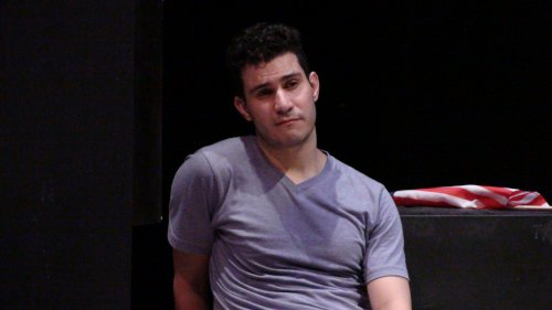 "Eduardo Leanez as Yoel in a scene from ""You Are Confused!"" (Photo credit: Joe Bly)"