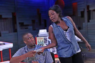 """Daniel Morgan Shelley and Crystal Lucas-Perry in a scene from Angela Hanks' """"Devil Music""""(Photo credit: Gerry Goodstein)"""