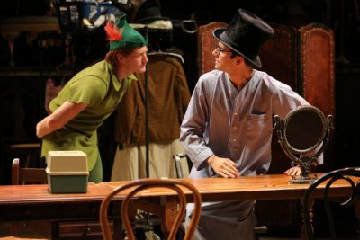"Jordan Dean and Michael Urie in a scene from ""Shows for Days"" (Photo credit: Joan Marcus)"