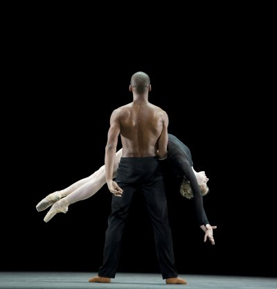 "A scene from The Royal Ballet's production of Wayne McGregor's ""Infra"" (Photo credit: Bill Cooper)"
