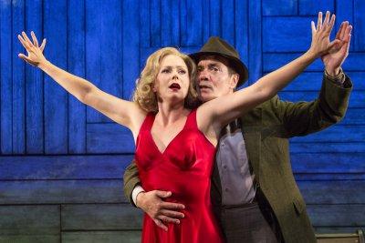 "Liv Rooth and Derek Smith in a scene from David Grimm's ""Oriflamme"" (Photo credit: Heidi Bohnenkamp)"