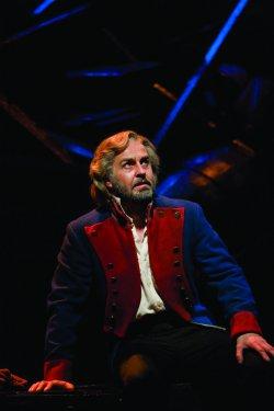 "Alfie Boe as Jean Valjean in ""Les Miserables"" (Photo credit: Catherine Ashmore)"