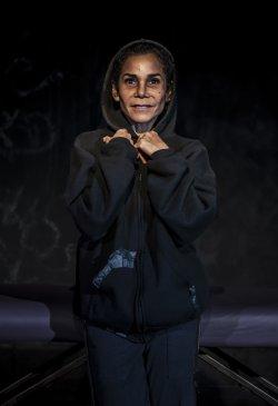 "Daphne Rubin-Vega in a scene from ""Empanada Loca"" (Photo credit: Monique Carboni)"