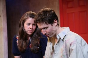 "Allison Linker and Ben Sumrall in a scene from ""Believers"" (Photo credit: Gerry Goodstein)"