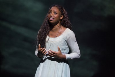 """Montego Glover as Fantine in """"Les Miserables"""" (Photo credit: Matthew Murphy)"""