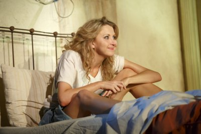 "Nina Arianda in a scene from ""Fool for Love"" (Photo credit: Joan Marcus)"