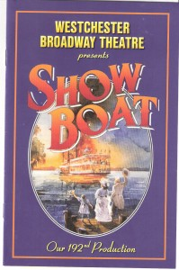 Show Boat Playbill Deland