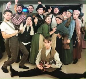 Cast members of Fiddler