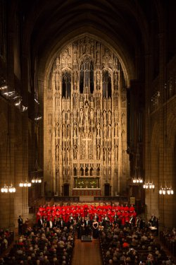 """Haydn's """"Missa in Angustiis"""" (Nelson Mass) presented by The Saint Thomas Choir of Men and Boys with Orchestra of St. Luke's with Guest Conductor Andrew Nethsingha (Photo credit: Ira Lippke)"""