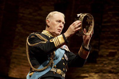 "Tim Pigott-Smith in a scene from ""King Charles III"" (Photo credit: Joan Marcus)"