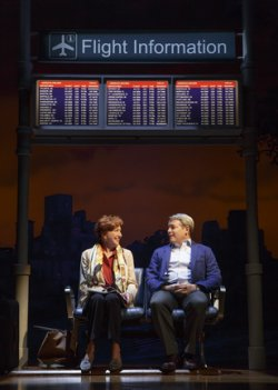 "Julie White and Matthew Broderick in a scene from ""Sylvia"" (Photo credit: Joan Marcus)"