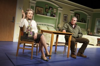 """Holland Taylor and Glenn Fitzgerald in a scene from """"Ripcord"""" (Photo credit: Joan Marcus)"""