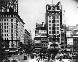 The Palace Theatre NYC 1913