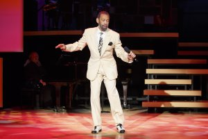 """Maurice Hines in a scene from """"Tappin' Thru Life"""" (Photo credit: Carol Rosegg)"""