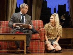Matthew Broderick and Annaleigh Ashford in Sylvia
