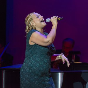 "Vaneese Thomas as she appeared at ""Battle for the Airwaves: The Songbook Meets Rock and Country"" (Photo credit: Richard Termine)"