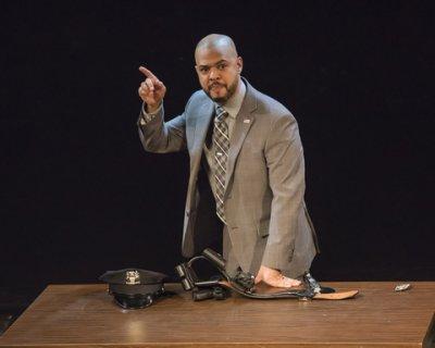 "Ryan Quinn in a scene from ""Dead Dog Park"" (Photo credit: Ashley Garrett)"