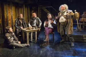 "Tavern scene in the RSC's ""King Henry IV, Part I"" (Photo credit: Richard Termine)"