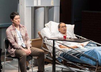"""James Yaegashi and Jogo Gonzalez in a scene from """"House Rules"""" (Photo credit: Web Begole)"""