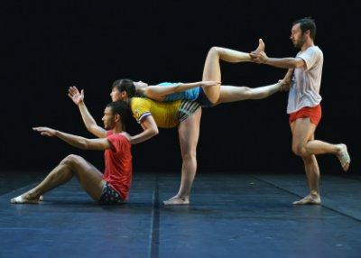 "A scene from Ballet Preljocaj's ""Empty Moves"" (Photo credit: Jean-Claude Carbonne)"