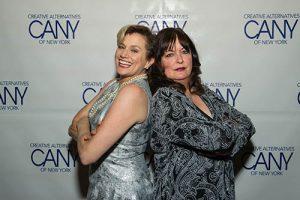 Cady Huffman, Ann Hampton Callaway  -Photo: Christine Butler