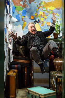 "Bill Bowers in a scene from ""All Over the Map"" (Photo to credit: Maria Baranova-Suzuki)"