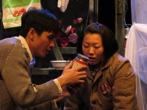 """Wanning Jen and Chun Cho in a scene from """"Midnight Kill"""" (Photo credit: Remy)"""