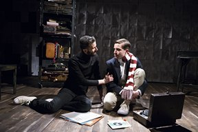 "Aidan Sank and Phil Gillen in a scene from ""Gorey: The Secret Lives of Edward Gorey"" (Photo credit: Jenny Anderson)"