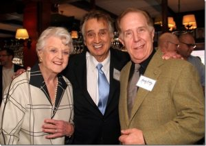 Angela Lansbury & John Bowab & Randy Kirby PHOTOS BY Michael Portantiere