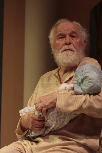 "George Bartenieff in a scene from Karen Malpede's ""The Beekeeper's Daughter"" (Photo credit: Beatrice Schiller)"