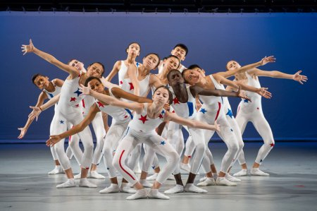 "Ballet Tech Kid Dance in a scene from ""A Yankee Doodle"" (Photo credit: Christopher Duggan)"
