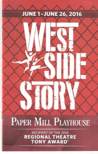 West Side Story Playbill