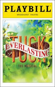 Tuck Everlasting Playbill
