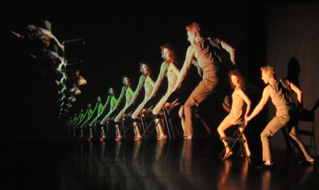 "A scene from ""Remembering What Never Happened"" performed by Bridgman